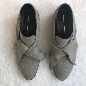 Proenza Schouler Gray Flannel Oxford size 41